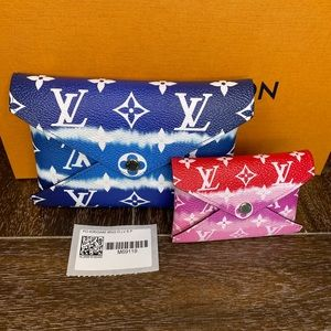 Louis Vuitton Escale Kirigami Pouches